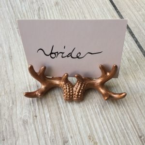 Antler Name Card Holder