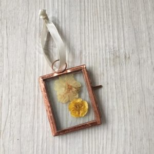 Copper Hanging Frame