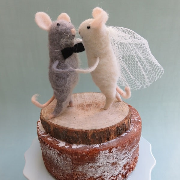 mice wedding cake toppers uk unique shop for innovative and on trend wedding 17334