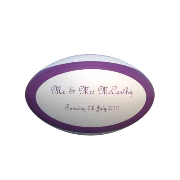 Personalised Rugby Products
