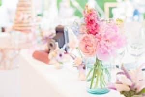 flowerscameracake