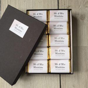 Mini Geo Blush Chocolates