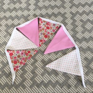Completed bunting