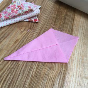 Kite shaped pendant