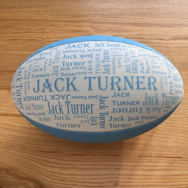 Personalised Rugby Ball